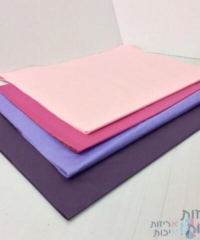 נייר משי צבעוני