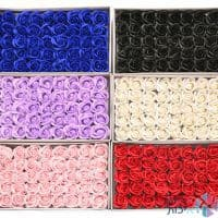 קופסאות לפרחים - פרחי סבון ריחניים