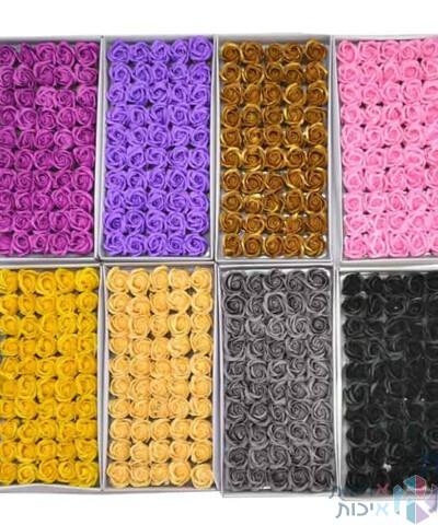 קופסאות לפרחים - פרחי סבון