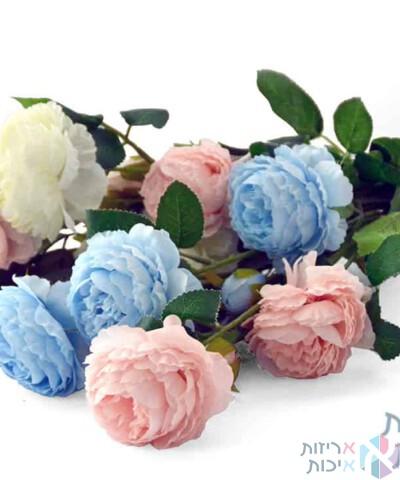 פרחי בד במגוון צבעים
