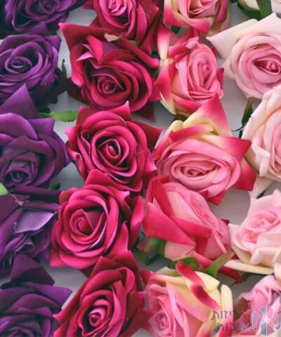 פרחי בד בתפזורת (2)