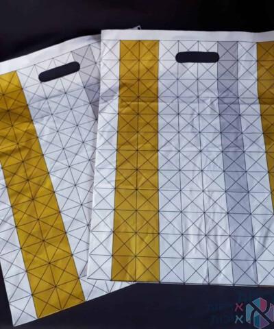 שקיות ניילון עבות - דגם משולשים