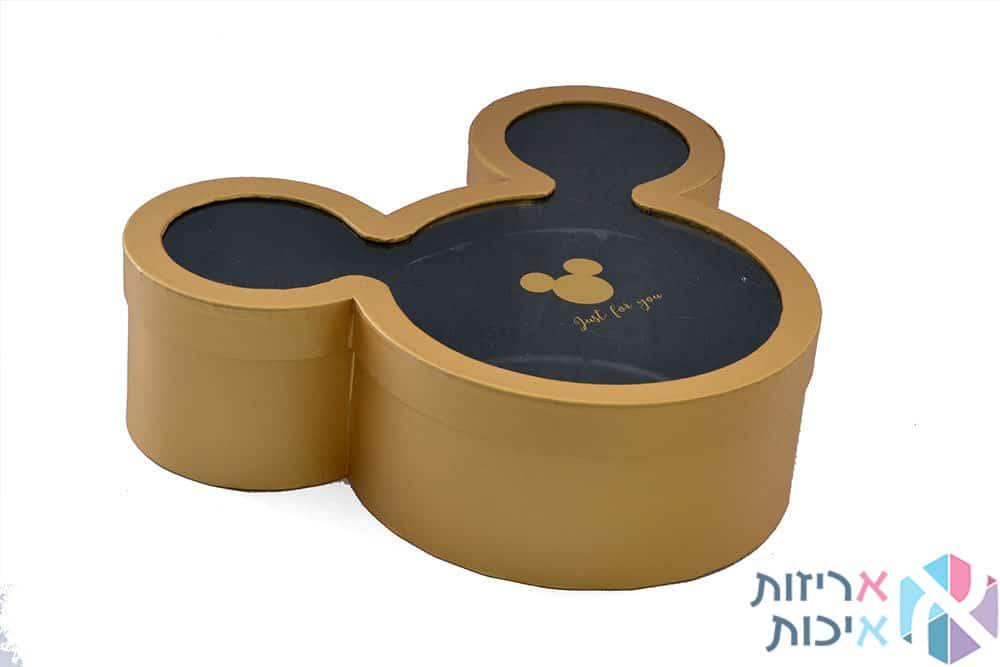 קופסאות לפרחים - מיקי מאוס זהב