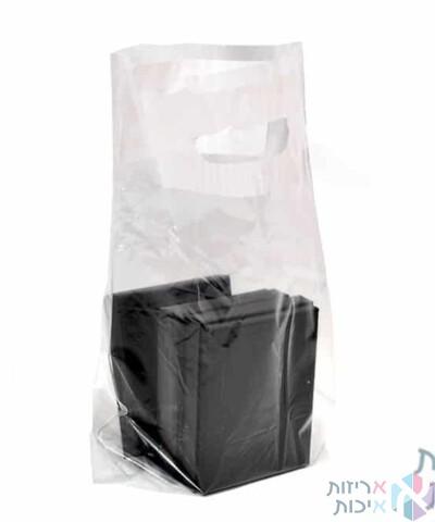 שקיות ניילון - דגם שקוף