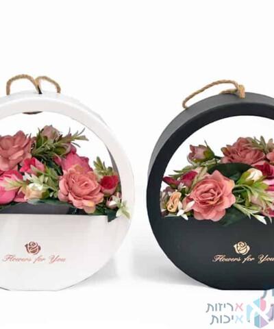 קופסאות לפרחים - מתלה עגול לפרחים