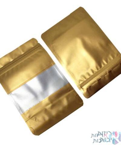 שקיות אלומיניום פסגור חלון 1624 זהב