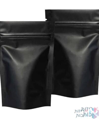 שקיות אלומיניום פסגור ללא חלון 20/30 שחור
