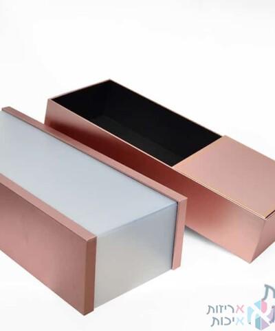 קופסאות לפרחים - קופסת חלוקה יוקרתית מאקריל בצורת מלבן (2)